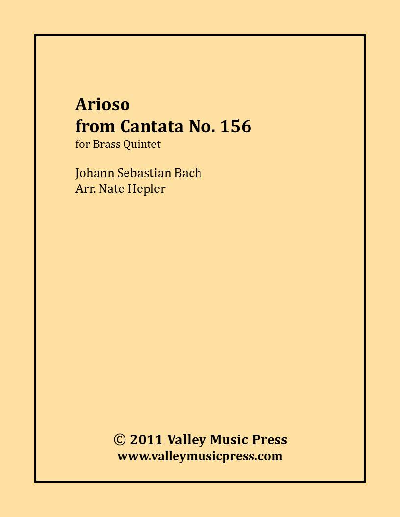 Bach - Arioso from Cantata No. 156 (Brass Quintet)