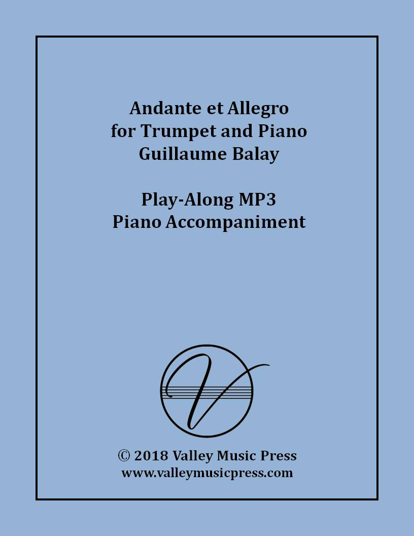 Balay - Andante et Allegro [Allegretto] (MP3 Accompaniment)
