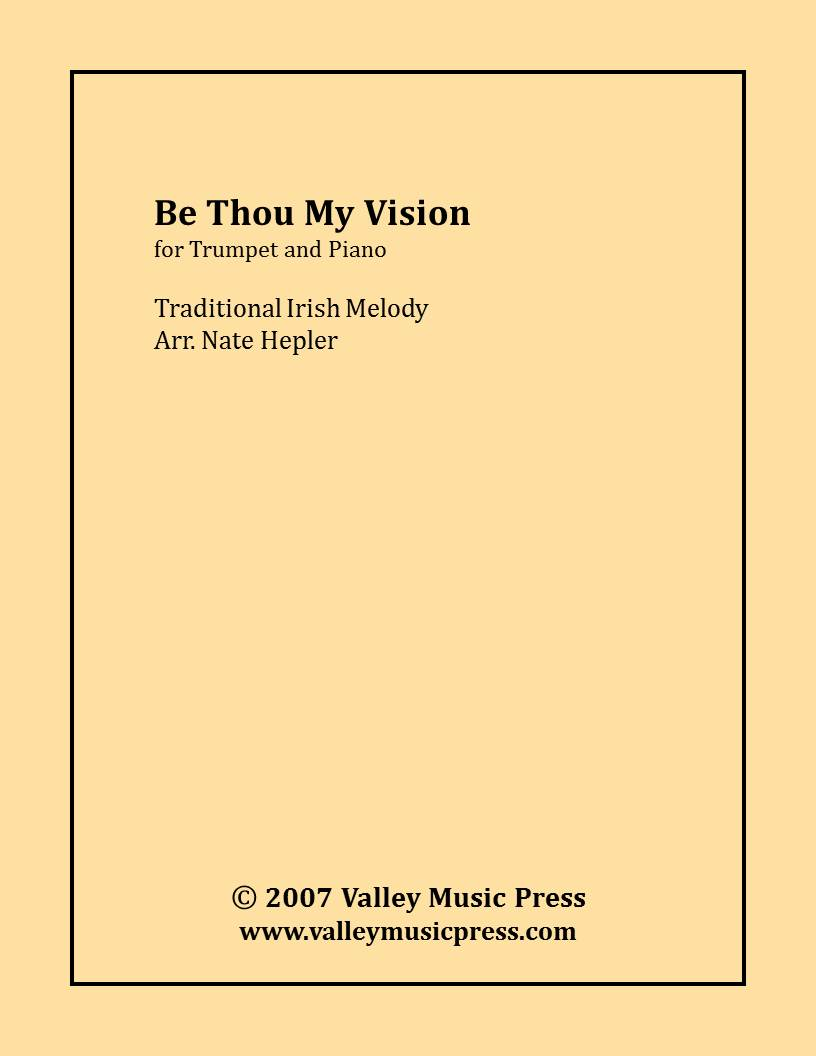 Traditional - Be Thou My Vision (Trumpet and Piano)