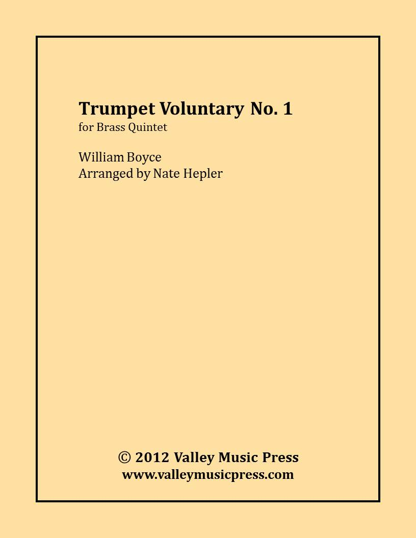Boyce - Trumpet Voluntary No. 1 (BQ)