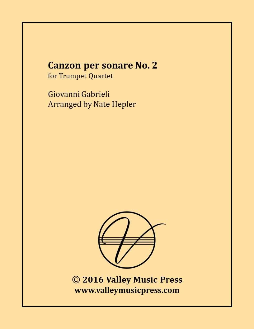 Gabrieli - Canzon per sonare No  2 (Trumpet Quartet) Giovanni