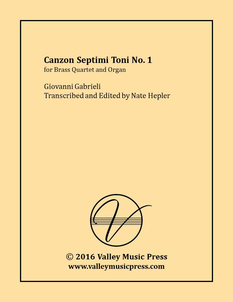 Gabrieli - Canzon septimi toni No. 1 (Brass Quartet & Organ)