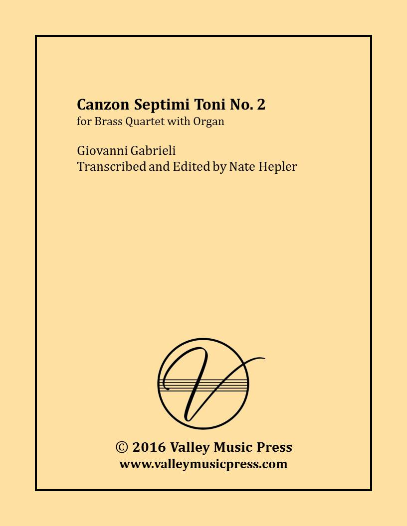 Gabrieli - Canzon septimi toni No. 2 (Brass Quartet & Organ)