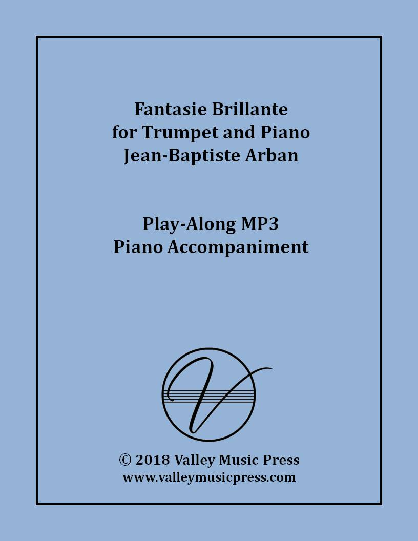 Arban - Fantasie Brillante for Trumpet (MP3 Piano Accompaniment)