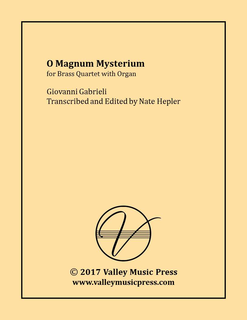 Gabrieli - O Magnum Mysterium (Brass Quartet with Organ)