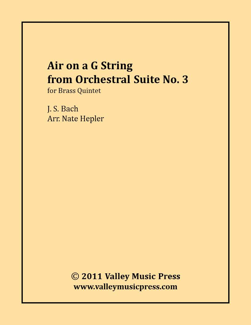 Bach - Air on a G String (Brass Quintet)