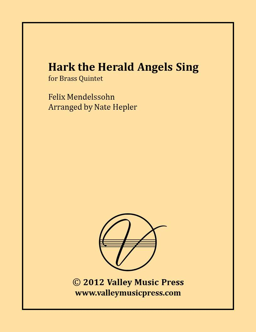 Mendelssohn - Hark! The Herald Angels Sing (Brass Quintet) - Click Image to Close