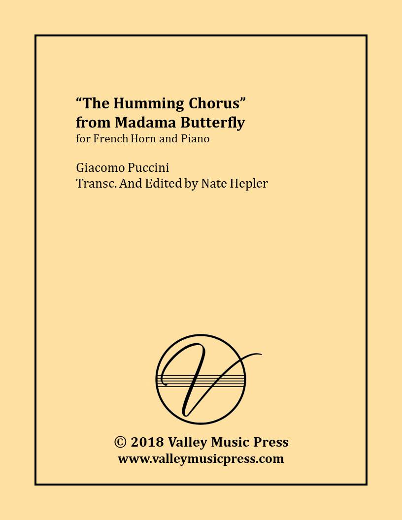 Puccini - Humming Chorus from Madama Butterfly (Hrn & Piano)