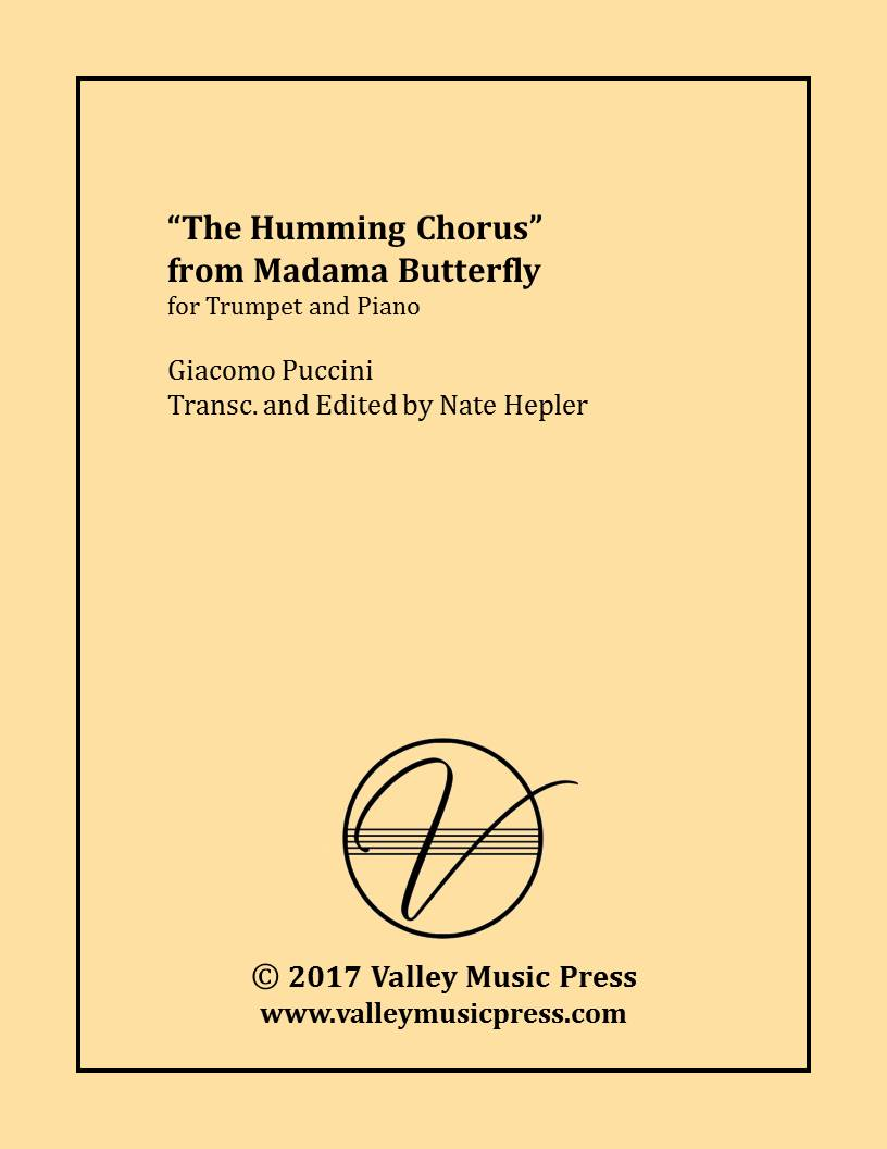 Puccini - Humming Chorus from Madama Butterfly (Trp & Piano)