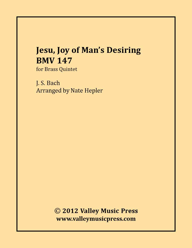 Bach - Jesu Joy of Man's Desiring BWV 147 (BQ)