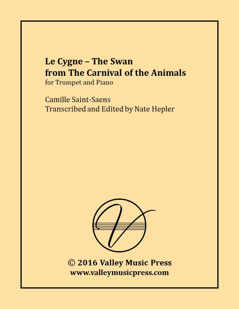 Saint-Saens - Le Cygne The Swan (Trumpet and Piano)