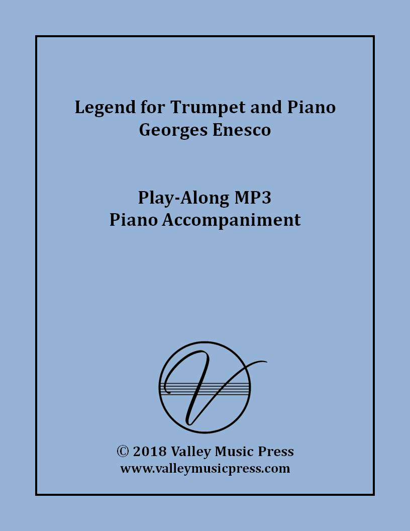 Enesco - Legend for Trumpet (MP3 Piano Accompaniment)