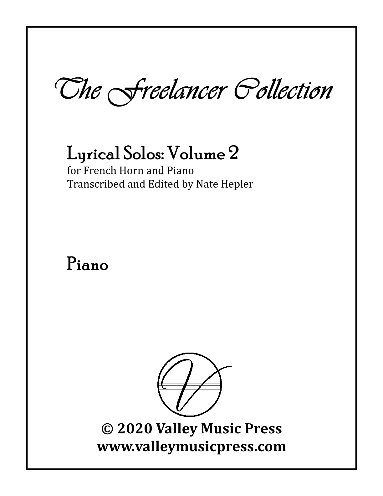 Hepler - Freelancer Collection Lyrical Solos Vol 2 (Hrn & Piano)