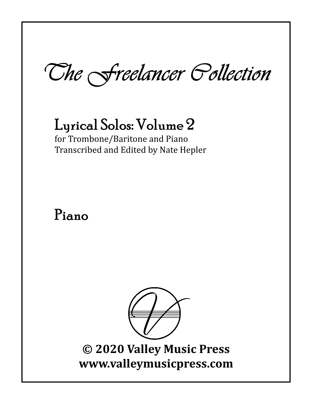 Hepler - Freelancer Collection Lyrical Solos Vol 2 (Trb & Piano)