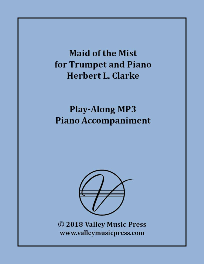 Clarke - Maid of the Mist for Trumpet (MP3 Piano Accompaniment)