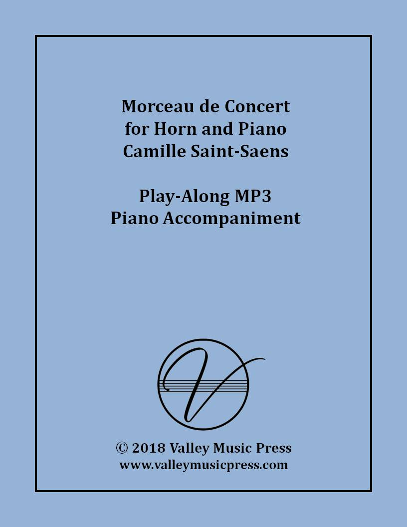 Saint-Saens - Morceau de Concert Horn (MP3 Piano Accompaniment)
