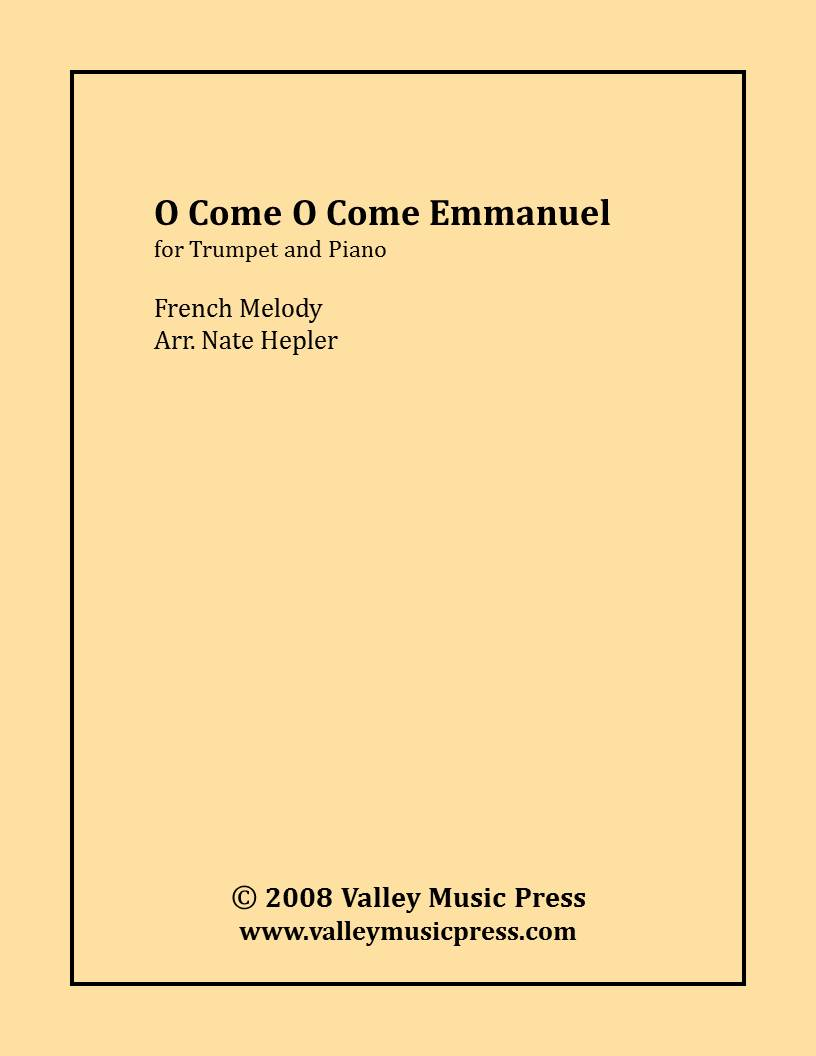 Traditional - O Come O Come Emmanuel (Trumpet and Piano)