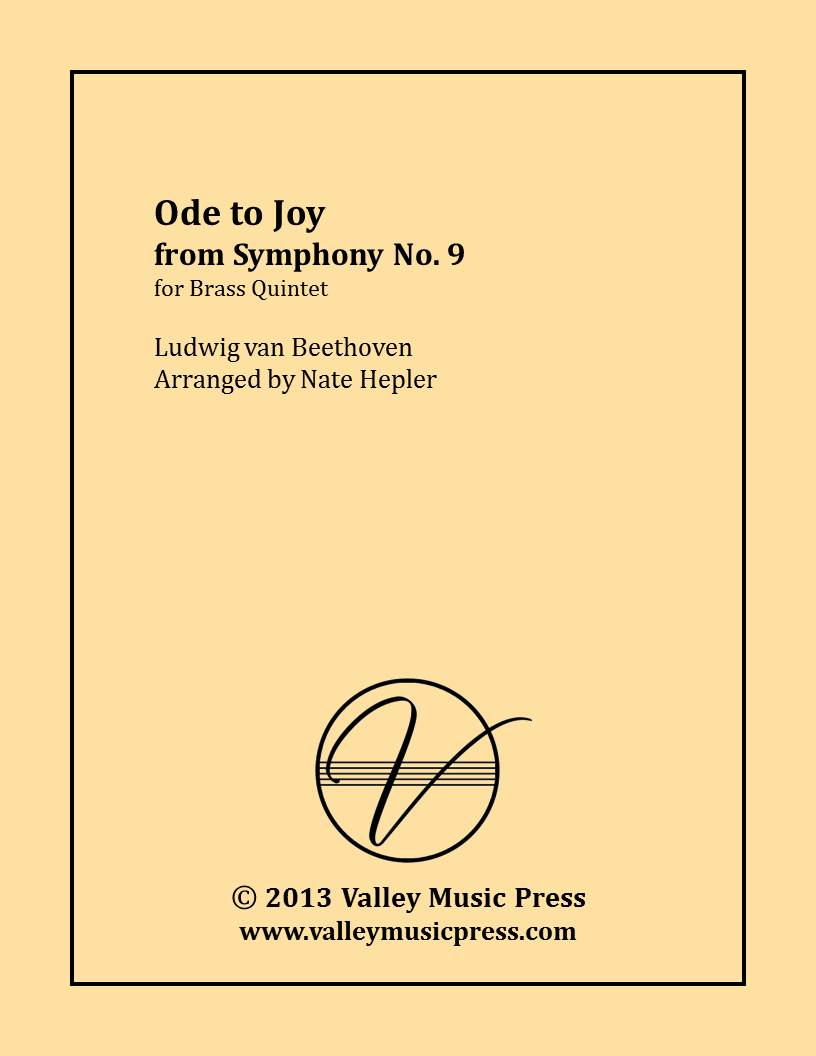 Beethoven - Ode to Joy from Symphony No. 9 (Brass Quintet)