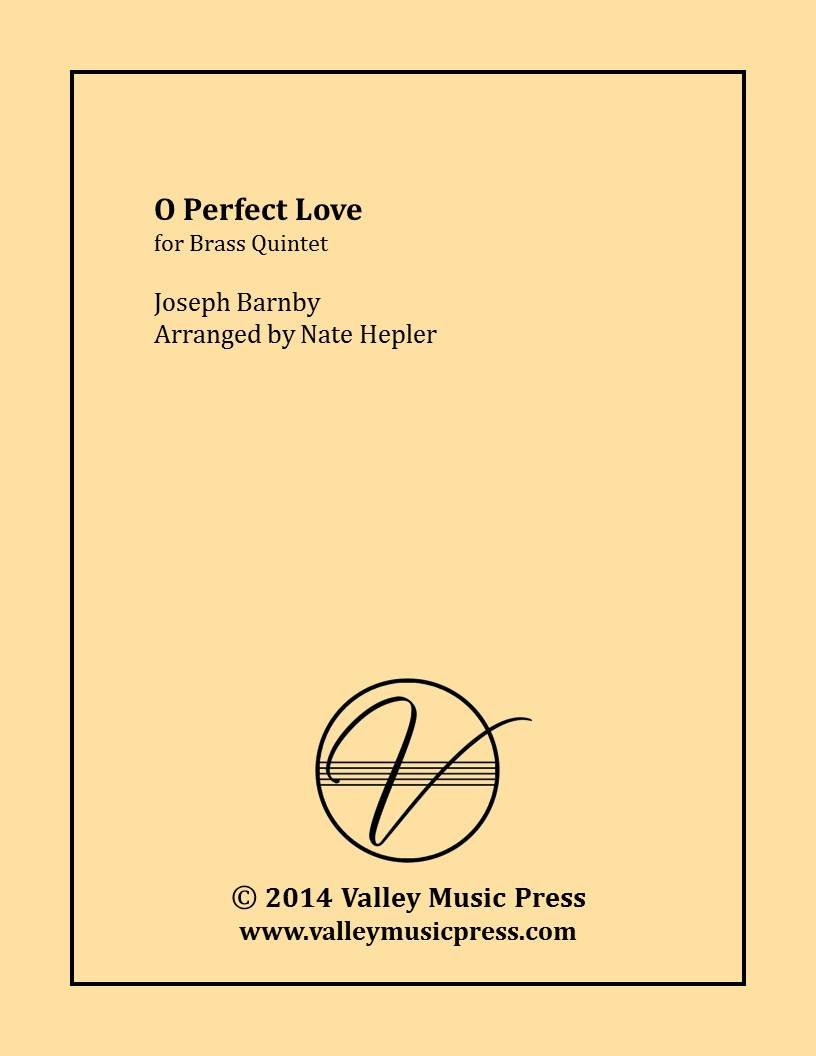 Barnby - O Perfect Love (Brass Quintet)