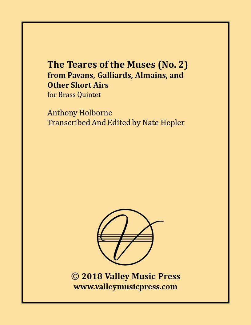 Holborne - No. 2 from PGAA The Teares of the Muses (BQ)