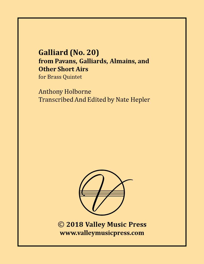 Holborne - No. 20 from PGAA Galliard (BQ)