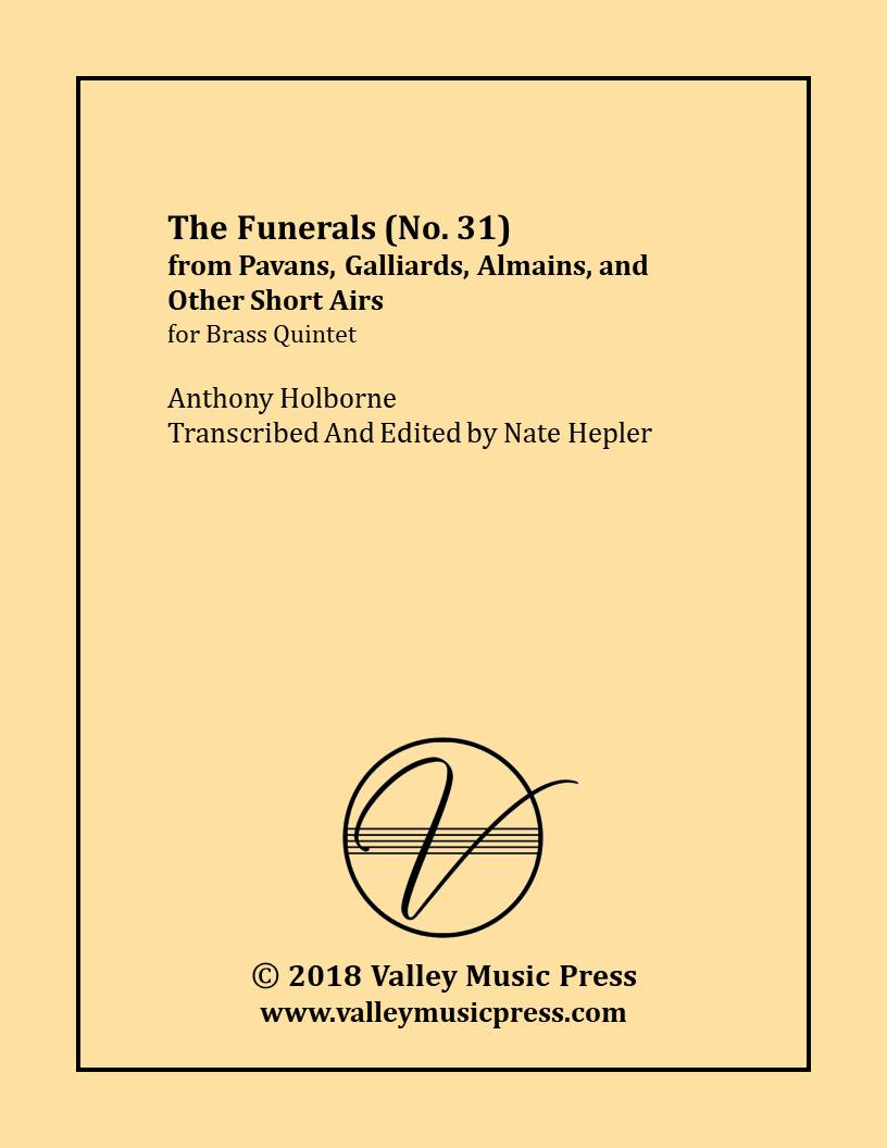 Holborne - No. 31 from PGAA The Funerals (BQ)