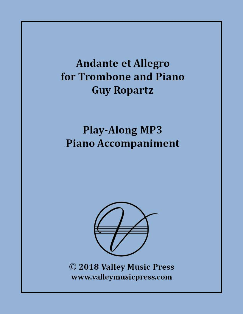 Ropartz - Andante et Allegro for Trombone (MP3 Accompaniment)