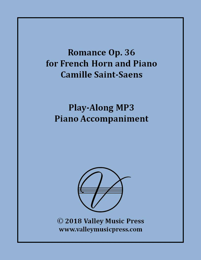 Saint-Saens - Romance Op. 36 for Horn (MP3 Piano Accompaniment)