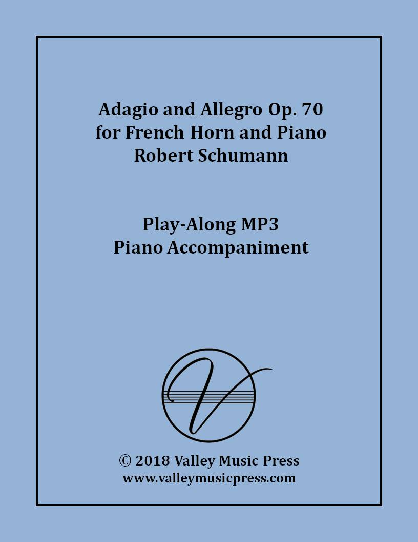 Schumann - Adagio and Allegro Op.70 for Horn (MP3 Accompaniment)