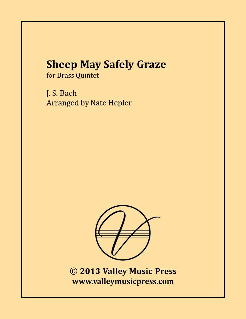 Bach - May Sheep Safely Graze BWV 208 (Brass Quintet)