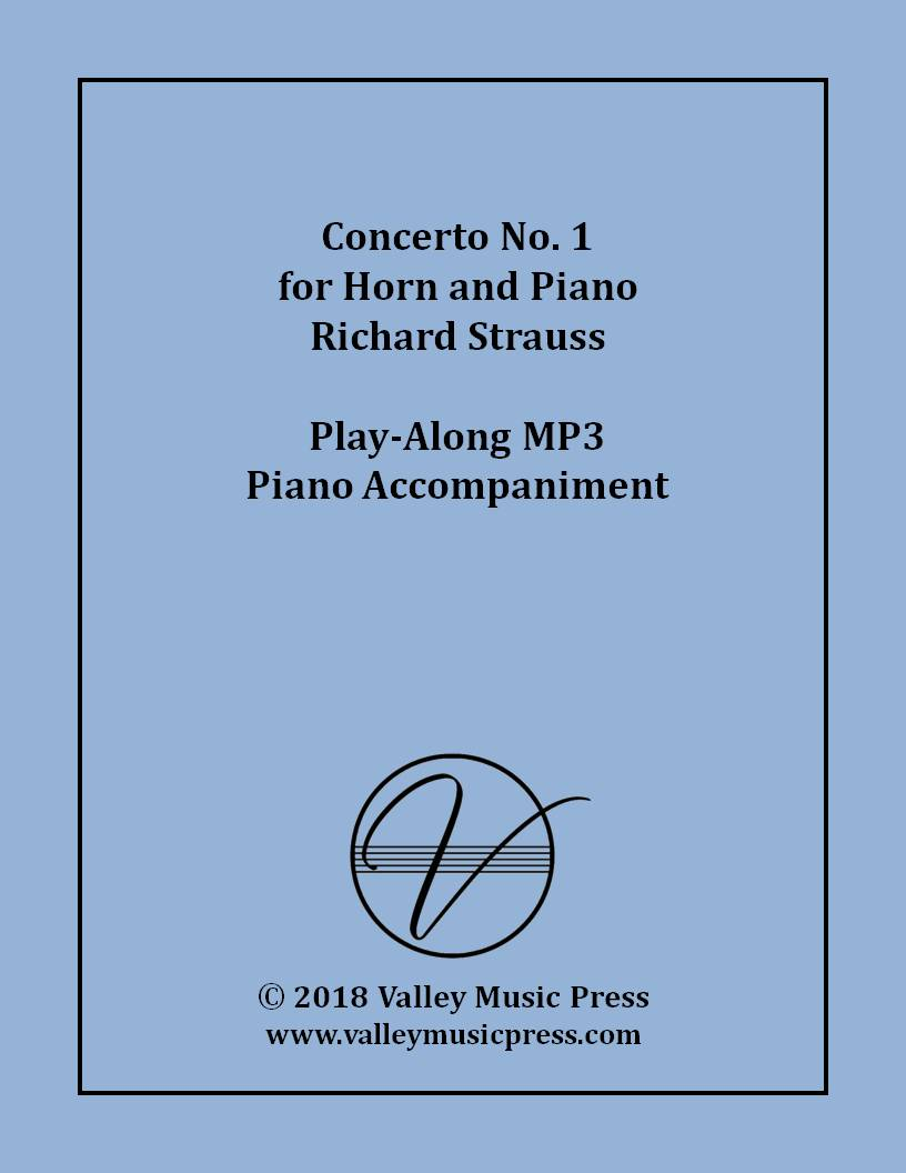 Strauss - Horn Concerto No. 1 Op. 11 (MP3 Piano Accompaniment)