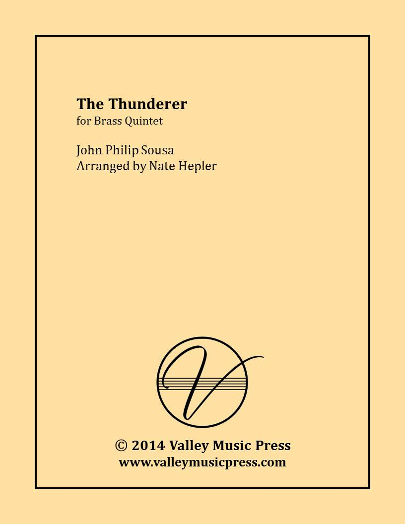 Sousa - The Thunderer (Brass Quintet)