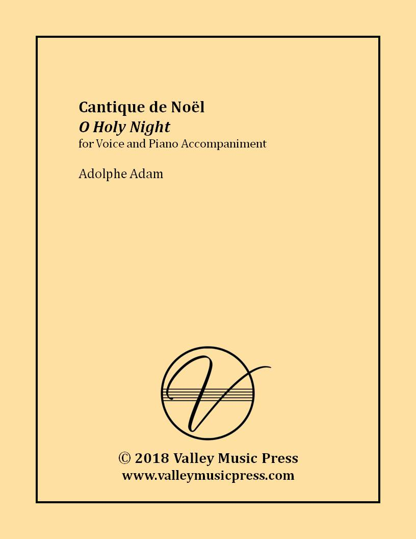 Adam - O Holy Night Cantique de Noel (Voice)
