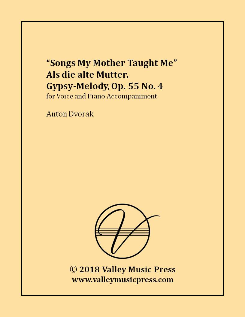 Dvorak - Songs My Mother Taught Me Op. 55 No. 4 (Voice)