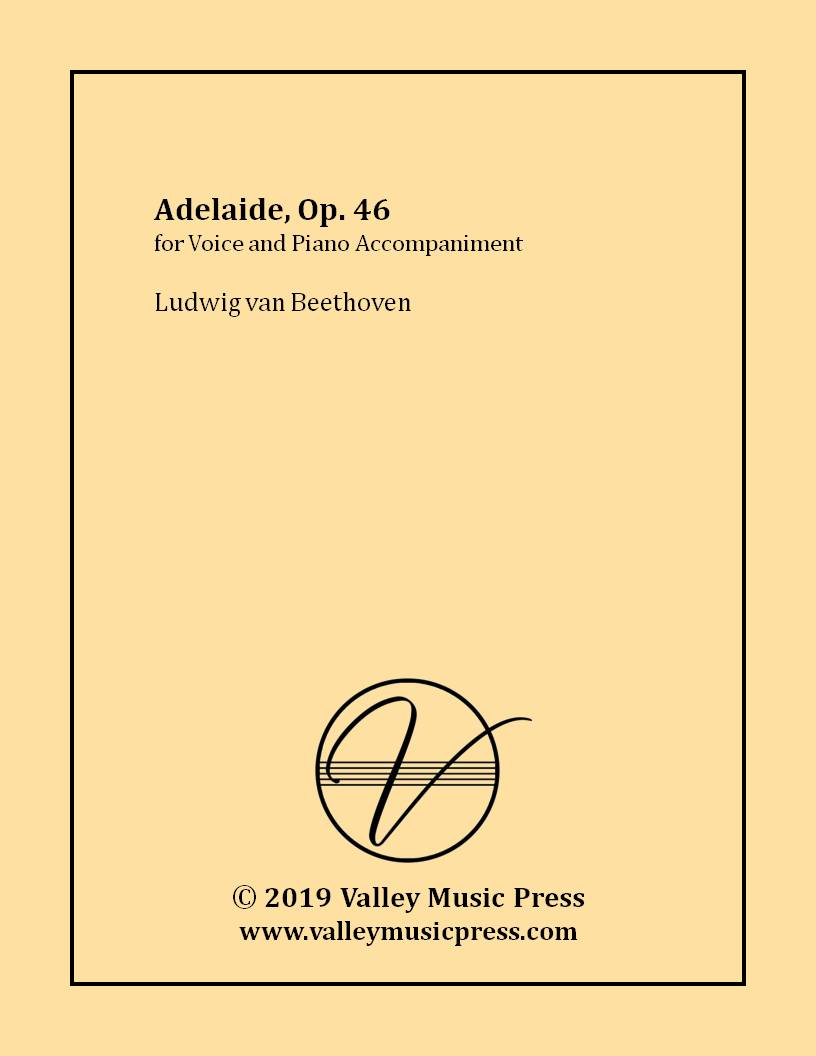 Beethoven - Adelaide Op. 46 (Voice)