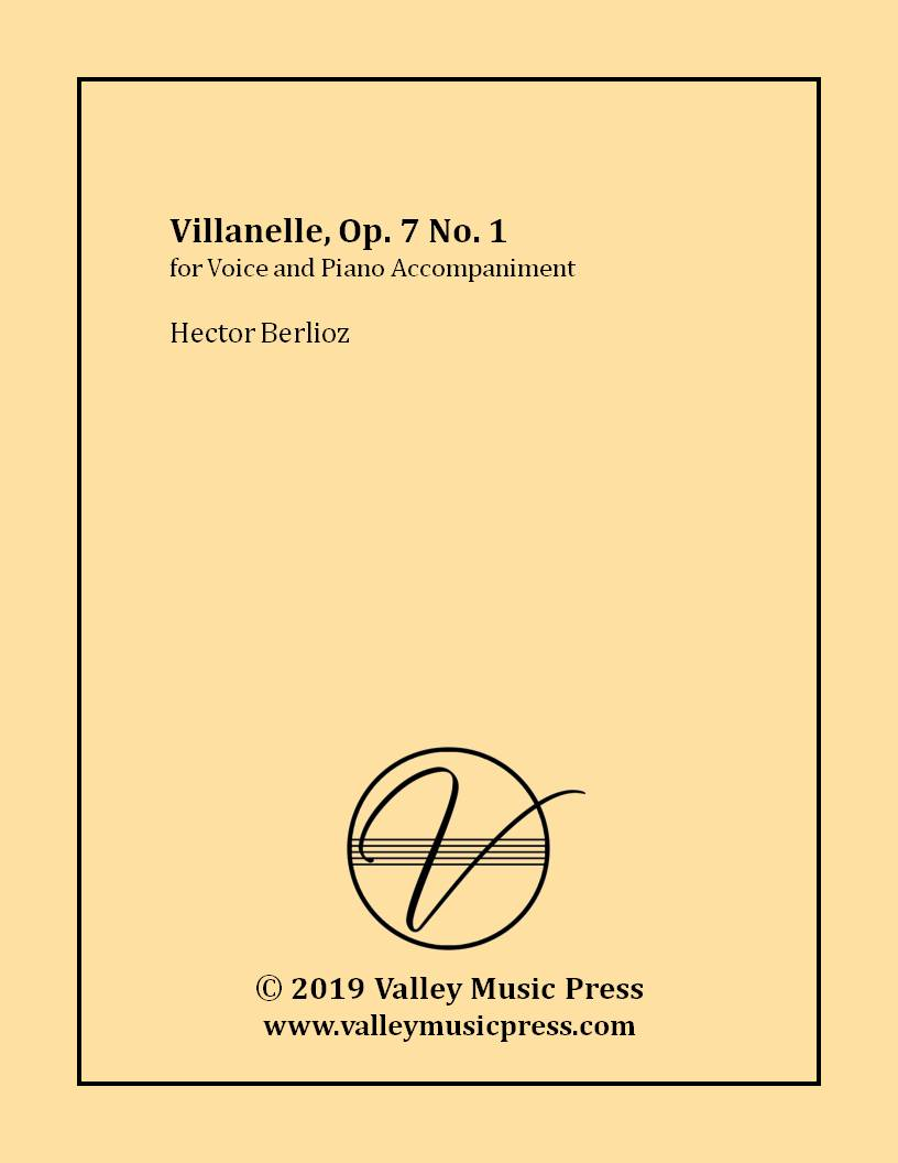 Berlioz - Villanelle Op. 7 No. 1 (Voice)