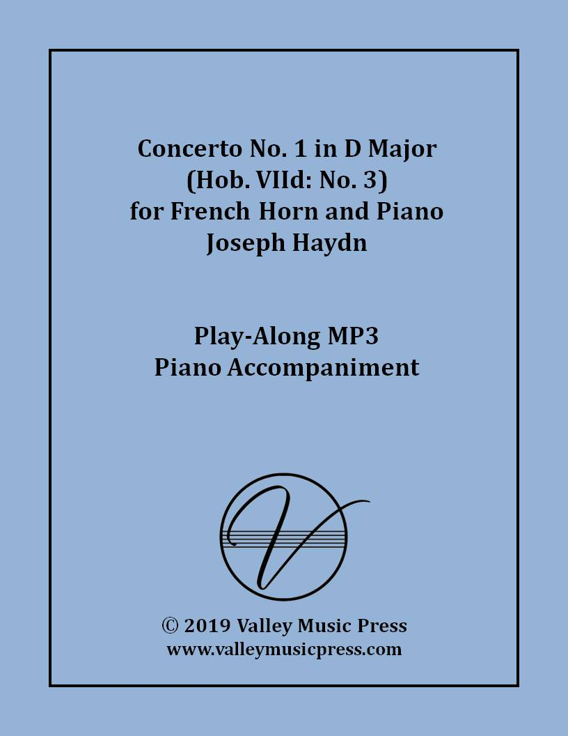 Haydn - Horn Concerto No. 1 in D Major (MP3 Accompaniment)