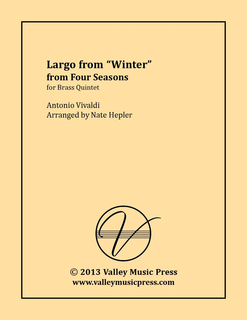 Vivaldi - Four Seasons Largo from Winter (Brass Quintet)