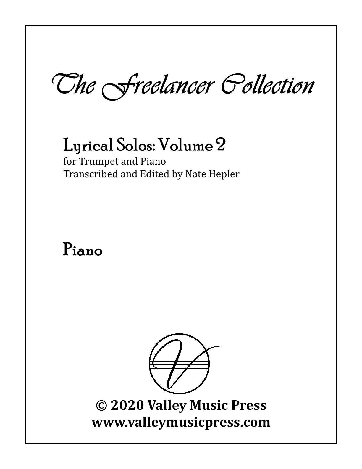 Hepler - Freelancer Collection Lyrical Solos Vol 2 (Trp & Piano)