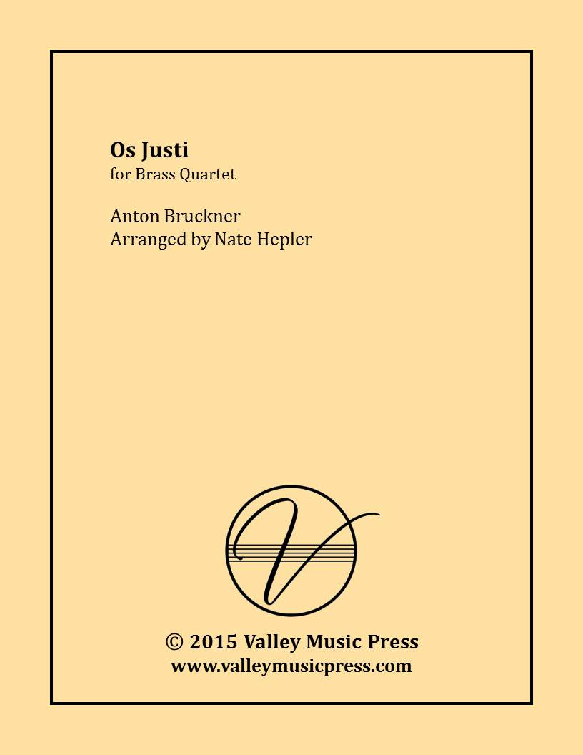Bruckner - Os Justi (Motet) (Brass Quartet)