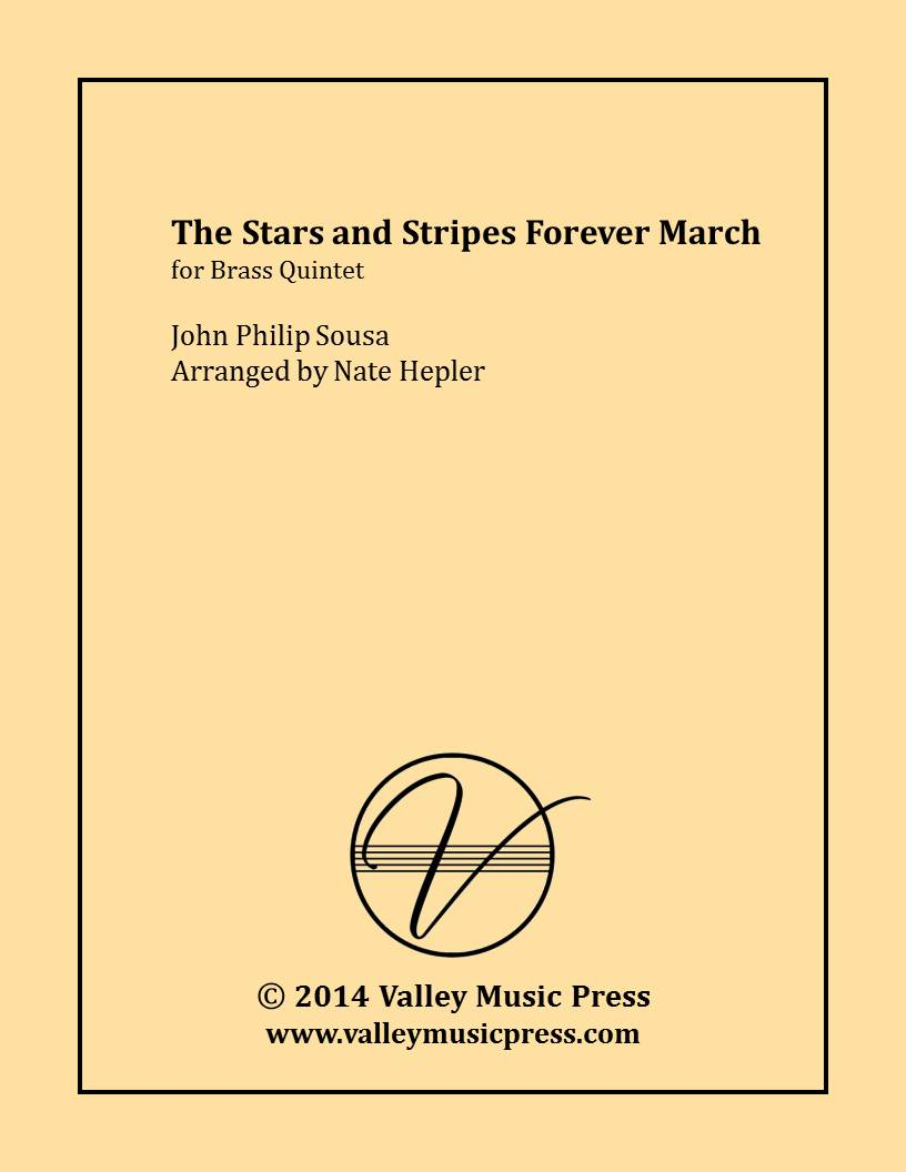 Sousa - The Stars and Stripes Forever March (Brass Quintet)