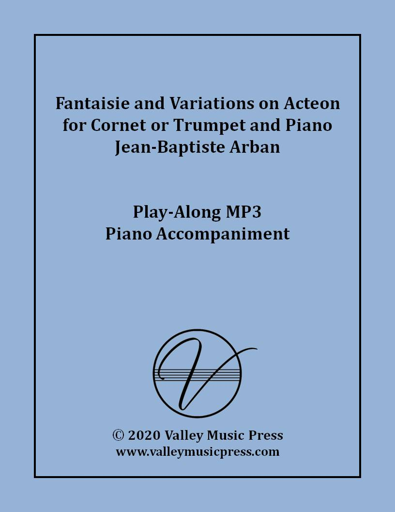 Arban - Fantaisie and Variations on Acteon for Trumpet (MP3)