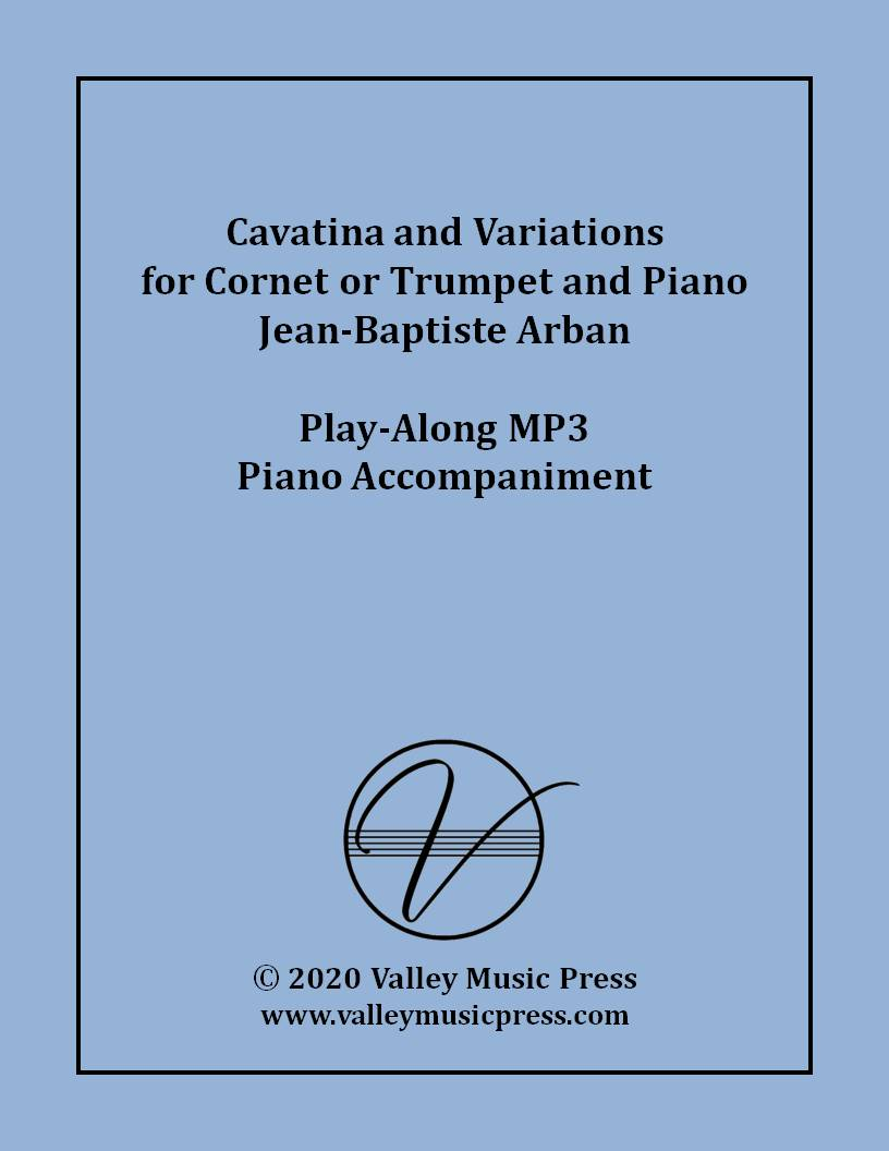 Arban - Cavatina and Variations (MP3 Piano Accompaniment)