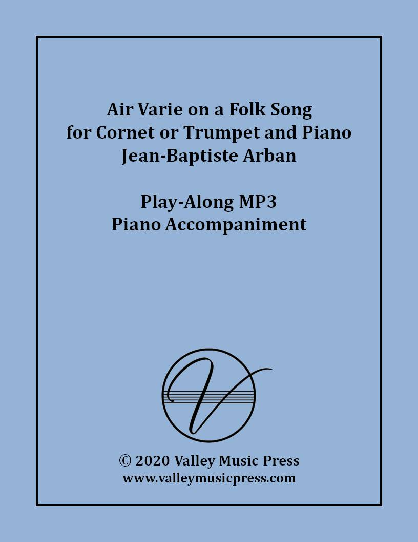 Arban - Air Varie The Little Swiss Boy (MP3 Piano Accompaniment)