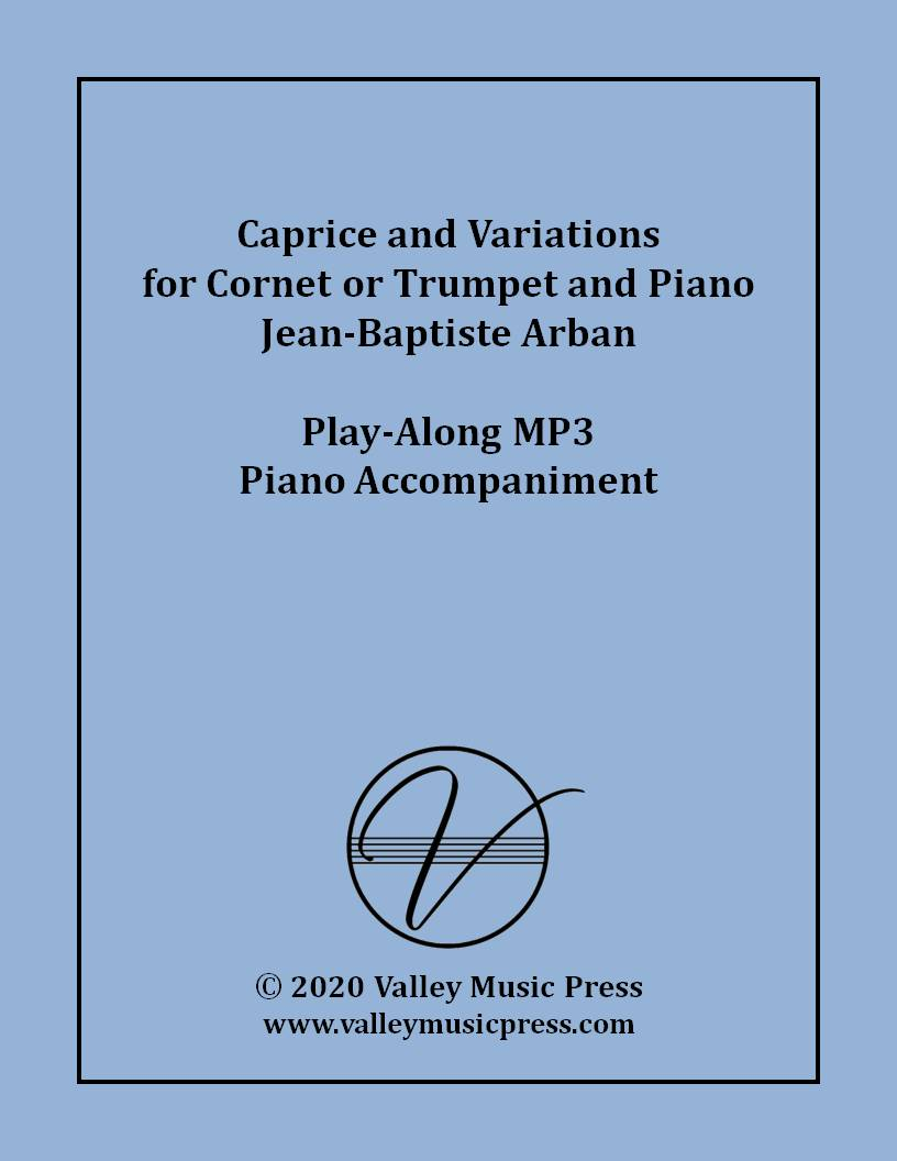 Arban - Caprice and Variations (MP3 Piano Accompaniment)