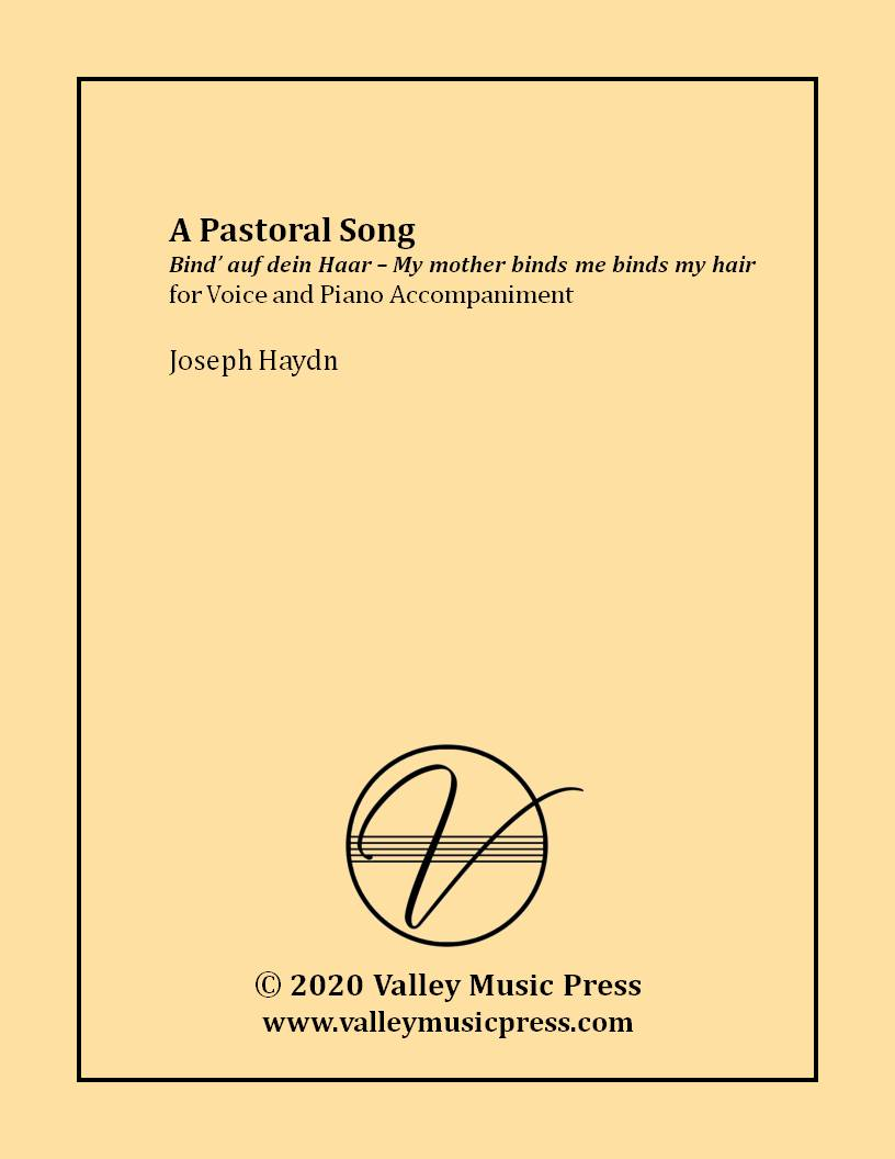 Haydn - A Pastoral Song (Voice)