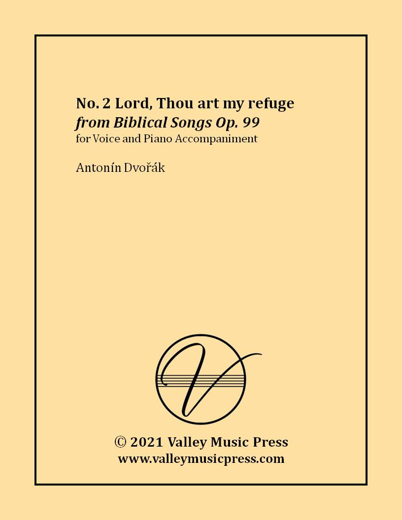 Dvorak - Lord, Thou art my refuge Op. 99 No. 2 (Voice)